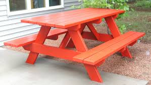 painted picnic table for backyard if i decorated pinterest