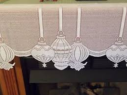 mantel scarf new ivory lace christmas ornament design mantel scarf