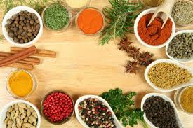 ingr馘ients cuisine various spices selection food ingredients and aromatic additives