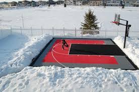 How To Build A Basketball Court In Backyard Backyard Sport Court Cost Outdoor Goods