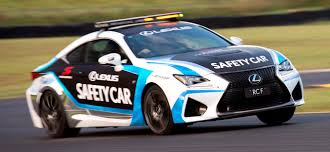 lexus f sport v8 lexus rc f to be safety car in australian v8 series this year