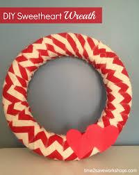 valentine u0027s day decorations diy sweetheart wreath kasey trenum
