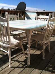 Redo Kitchen Table by Shabby Chic Kitchen Table U0026 Chairs With Cath Kidston Seat Pads