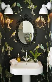funky bathroom wallpaper ideas delightful weekend cozy warm cbell powder room and boho