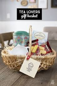 bridal shower door prize idea tea lover basket tea pot tea