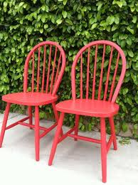 Wayfair Dining Chairs by Chair Shop Red Painted Dining Chairs Wayfair For All The Best