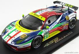 Ferrari 458 V8 - bbr models p18117 scale 1 18 ferrari 458 italia gt2 4 5l v8 team