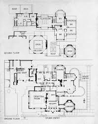 Studio Plan by Frank Lloyd Wright U0027s Plan For His House And Studio In 1889 Oak