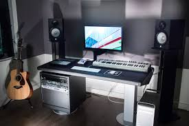 Music Studio Desk Plans by My U0027build A Home Studio Recording Desk U0027 Result Workstation