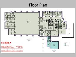 volunteer fire station floor plans ds 16 185 fire station 9