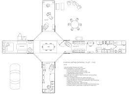 How To Draw Sliding Doors In Floor Plan Nomadic Land Craft Kasten Marine Design