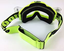 beer goggles motocross 100 accuri motocross mx goggles flou yellow with goggle shop roll