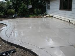 Backyard Stamped Concrete Ideas Concrete Backyard Design 1000 Ideas About Stamped Concrete Patios