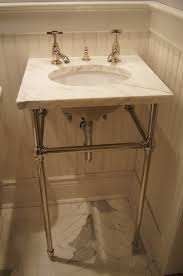 sink with metal legs console table console sink with metal legs in exquisite