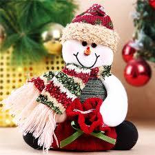 aliexpress com buy lovely fleece snowman elderly bear elk straps