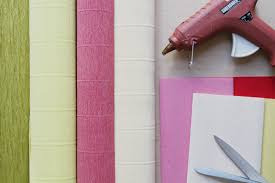 where to buy crepe paper corner paper flowers d i y