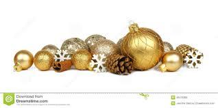 gold christmas ornament border stock photo image 46476384