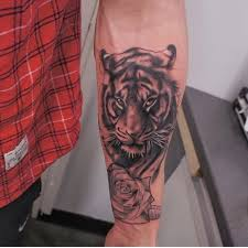 forearm tiger tattoos for design idea for and