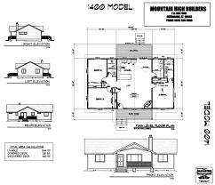 floor plans custom home building from mountain high builders model 1400 floor plan