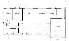 plan maison 4 chambre plan maison 120m2 4 chambres 9 plain pied lzzy co newsindo co