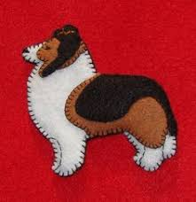 scottie ornament felt by puffinpatchwork on etsy