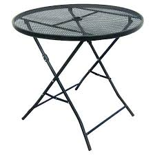 Outdoor Folding Side Table Folding Side Table Australia Wooden Patio Top Threshold Metal Mesh
