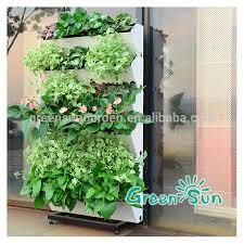 Watering Vertical Gardens - hydroponic system planter vertical garden living wall indoor green