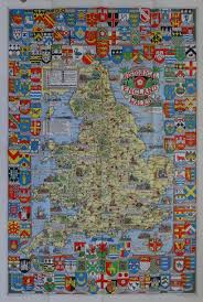 Maps Of England by Leslie George Bullock 1895 1971 Edinburgh Publisher John