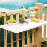 folding balcony table innovation or eyesore kitchn
