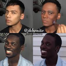 dark skin and nyx makeup artist jon bonita for instance is infamous on the ig and