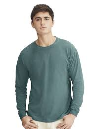Comfort Colors Chalky Mint Comfort Colors Long Sleeve Tee 6014