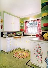 1940s Kitchen Design The Best Flooring Choices For Old House Kitchens Old House
