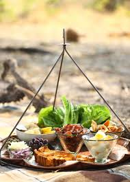 food on safari lunch salad