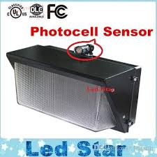 Photocell For Outdoor Lights 2018 Photocell Sensor Led Wall Pack Light 60w 80w 100w 120w