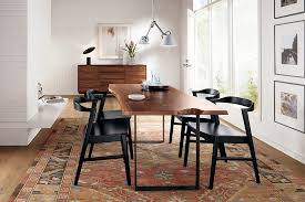 Midcentury Dining Chairs Dinning Rooms Midcentury Dining Room With Small Live Edge Dining