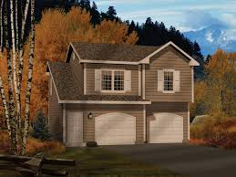 Two Story Garage Plans With Apartments Alec Two Car Apartment Garage Plan 058d 0146 House Plans And More
