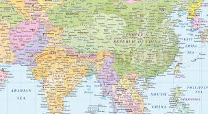 World Map Of Asia by Download Asia World Map Major Tourist Attractions Maps
