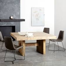 reclaimed wood square dining table emmerson reclaimed wood square dining table 60 sq west elm