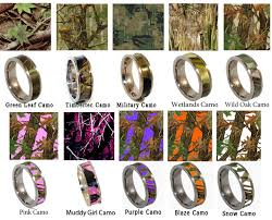 camo wedding ring sets 27 month his hers camo wedding ring set frog it