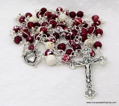 sacred heart rosary unbreakable rosaries sacred heart of jesus unbreakable rosary
