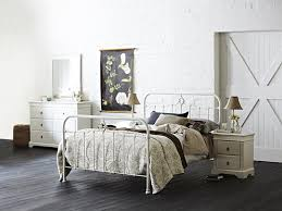 this lovely shabby chic bedroom features the snooze st germain