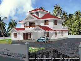 kerala style homes by muhammed shamim 3d home exterior 3