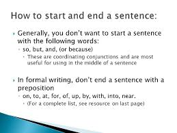 tips for successful writing formal essays reports