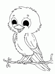 realistic bird coloring pages kids coloring