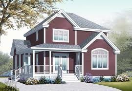 this is a computerized 3d rendering of these country home plans