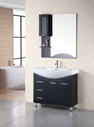 Modern Single Sink Bathroom Vanities by Sierra 40 U2033 Single Sink Vanity Set In Espresso Design Element