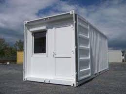 bureau container container sur mesure bureau isolé contact bungalow pro