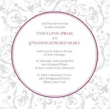 Proper Wedding Invitation Wording Wedding Invitation Wording Ideas From Purpletrail Couple Hosted