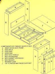 diy murphy bed plans diy do it yourself murphy bed plans pdf