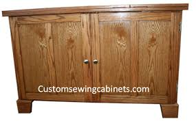 solid wood sewing machine cabinets custom sewing cabinets